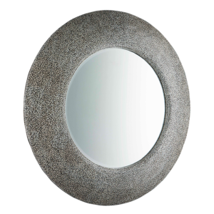 MSC3181-Round-Fine-Crackle-Mirror