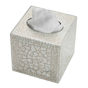 XCS3011 Crackle Cube Tissue Box