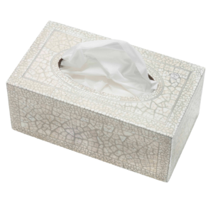 XSF5011 Crackle Rectangular Tissue Box