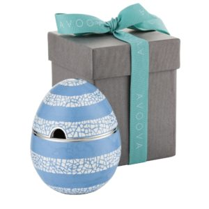 AVOOVA Condiment Pot - Beehive - Light Blue