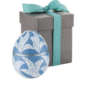 AVOOVA Jewellery Box - Banana - Light Blue